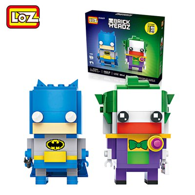LOZ Figure Style ABS Cartoon Building Brick - 245pcs