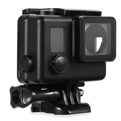 LINGLE AT634 Protective FrameAction Cameras &amp; Sport DV Accessories<br>LINGLE AT634 Protective Frame<br><br>Accessory type: Protective Cases/Housing<br>Apply to Brand: Gopro<br>Brand: LINGLE<br>Compatible with: Gopro Hero 3 Plus, Gopro Hero 4<br>Material: PC<br>Package Contents: 1 x Protective Frame, 1 x Dock, 1 x Screw<br>Package size (L x W x H): 18.00 x 11.00 x 6.00 cm / 7.09 x 4.33 x 2.36 inches<br>Package weight: 0.098 kg<br>Product size (L x W x H): 7.00 x 4.00 x 7.00 cm / 2.76 x 1.57 x 2.76 inches<br>Product weight: 0.058 kg
