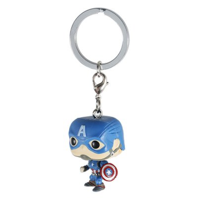 Alloy + PVC Key Chain Wallet Decoration - 1.57 inchKey Chains<br>Alloy + PVC Key Chain Wallet Decoration - 1.57 inch<br><br>Design Style: Fashion<br>Gender: Unisex<br>Materials: Alloy, PVC<br>Package Contents: 1 x Key Chain<br>Package size: 10.00 x 5.00 x 5.00 cm / 3.94 x 1.97 x 1.97 inches<br>Package weight: 0.020 kg<br>Product size: 4.00 x 2.50 x 2.00 cm / 1.57 x 0.98 x 0.79 inches<br>Product weight: 0.010 kg<br>Stem From: Europe and America<br>Theme: Movie and TV