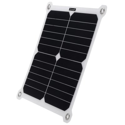 SUNWALK 13W Outdoor High-effect Solar Charger PanelChargers &amp; Cables<br>SUNWALK 13W Outdoor High-effect Solar Charger Panel<br><br>Brand: SUNWALK<br>Color: White<br>Connection Type: Two USB Output Interface<br>Material: PC<br>Package Contents: 1 x Solar Charger Panel<br>Package size (L x W x H): 34.40 x 30.50 x 4.00 cm / 13.54 x 12.01 x 1.57 inches<br>Package weight: 0.400 kg<br>Power: 13W<br>Product size (L x W x H): 31.40 x 29.60 x 1.20 cm / 12.36 x 11.65 x 0.47 inches<br>Product weight: 0.219 kg<br>Type: Solar Chargers