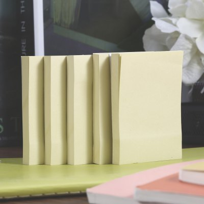 XINGLI S1 - 2 5PCS Sticky NotesNotebooks &amp; Pads<br>XINGLI S1 - 2 5PCS Sticky Notes<br><br>Color: Yellow<br>Material: Paper<br>Package Contents: 5 x XINGLI S1 - 2 Sticky Note<br>Package size (L x W x H): 7.50 x 5.00 x 5.00 cm / 2.95 x 1.97 x 1.97 inches<br>Package weight: 0.157 kg<br>Product weight: 0.136 kg<br>Type: Self-Stick Notes