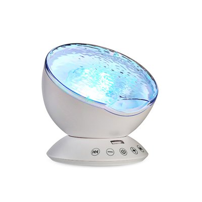 LED Night Light Projector Lamp Ocean Theme Toy