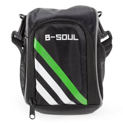 B - SOUL YA0211 1.5L Bicycle Handlebar BagBike Bags<br>B - SOUL YA0211 1.5L Bicycle Handlebar Bag<br><br>Brand: B-SOUL<br>Color: Black<br>Emplacement: Handlebar<br>Material: Nylon<br>Model Number: YA0211<br>Package Contents: 1 x B - SOUL YA0211 Bicycle Handlebar Bag<br>Package Dimension: 25.00 x 17.00 x 10.00 cm / 9.84 x 6.69 x 3.94 inches<br>Package weight: 0.200 kg<br>Product Dimension: 17.00 x 12.00 x 9.00 cm / 6.69 x 4.72 x 3.54 inches<br>Product weight: 0.165 kg<br>Suitable for: Touring Bicycle, Road Bike, Mountain Bicycle
