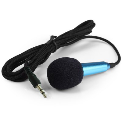 Mini Microphone Kits 3.5mm Plug with Adapter Cable