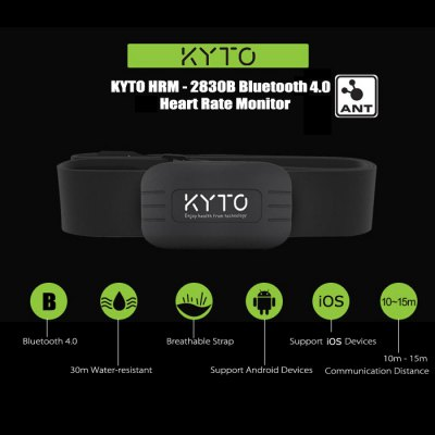 KYTO HRM - 2830B Bluetooth 4.0 Heart Rate Monitor