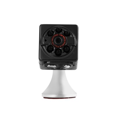 SQ9 1080P Mini DV DC CameraCar DVR<br>SQ9 1080P Mini DV DC Camera<br><br>Model: SQ9<br>Type: Camera Monitor<br>Chipset: 1247<br>Image Sensor: CMOS<br>Battery Type: Built-in<br>Battery Capacity (mAh?: 200mAh<br>Working Time: About 100 minutes<br>Working Voltage: DC - 5V<br>Wide Angle: 70 degree wide angle<br>Lens Size: 1cm<br>Video Resolution: 1080P (1920 x 1080),720P (1080 x 720)<br>Video Frame Rate: 30fps<br>Audio System: Built-in microphone/speacker (AAC)<br>Waterproof: No<br>Waterproof Rating : No<br>Motion Detection: No<br>Motion Detection Distance: No<br>Night vision : No<br>Night Vision Distance: No<br>GPS: No<br>Anti-shake: No<br>Language: English<br>Parking Monitoring: No<br>Operating Temp.: 0 - 40 Deg.C<br>Power Cable Length: 78cm<br>Product weight: 0.030 kg<br>Package weight: 0.078 kg<br>Product size (L x W x H): 2.00 x 2.00 x 2.00 cm / 0.79 x 0.79 x 0.79 inches<br>Package size (L x W x H): 8.50 x 8.00 x 3.50 cm / 3.35 x 3.15 x 1.38 inches<br>Package Contents: 1 x SQ9 1080P Mini DV DC Camera, 1 x Magnetic Stand, 1 x Power Cable, 1 x English User Manual