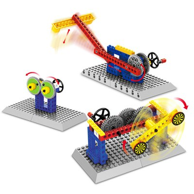 Mechanical Style Educational 3D Puzzle Toy