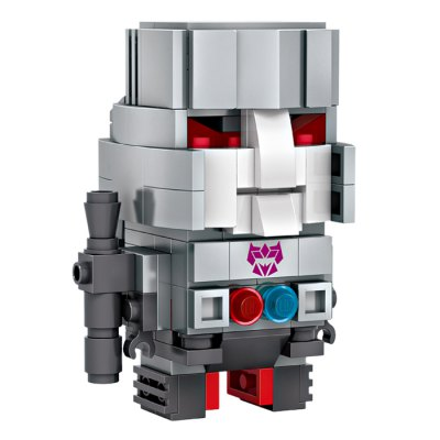 LOZ Figure Style Cartoon ABS Building Brick - 359pcsBlock Toys<br>LOZ Figure Style Cartoon ABS Building Brick - 359pcs<br><br>Brand: LOZ<br>Completeness: Semi-finished Product<br>Gender: Unisex<br>Materials: ABS<br>Package Contents: 359 x Module, 1 x Operation Instruction<br>Package size: 22.00 x 4.50 x 18.50 cm / 8.66 x 1.77 x 7.28 inches<br>Package weight: 0.190 kg<br>Product weight: 0.140 kg<br>Stem From: Europe and America<br>Theme: Movie and TV