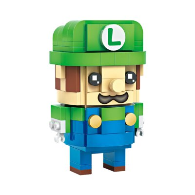 LOZ Figure Style Cartoon ABS Building Brick - 384pcsBlock Toys<br>LOZ Figure Style Cartoon ABS Building Brick - 384pcs<br><br>Brand: LOZ<br>Completeness: Semi-finished Product<br>Gender: Unisex<br>Materials: ABS<br>Package Contents: 384 x Module, 1 x Accessory Set<br>Package size: 22.00 x 4.50 x 18.50 cm / 8.66 x 1.77 x 7.28 inches<br>Package weight: 0.200 kg<br>Product weight: 0.150 kg<br>Stem From: Japan<br>Theme: Movie and TV