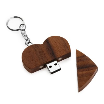 Creative Heart Shape USB Flash Drive