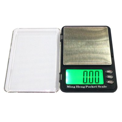 MH - 399 Pocket 100g 2.2 inch LCD Digital Jewelry ScaleDigital Scales<br>MH - 399 Pocket 100g 2.2 inch LCD Digital Jewelry Scale<br><br>Material             : ABS, Others<br>Model: MH - 399<br>Package Contents: 1 x Mini LCD Digital Jewelry Scale ( with Battery ), 1 x English User Manual<br>Package size (L x W x H): 13.50 x 10.50 x 3.00 cm / 5.31 x 4.13 x 1.18 inches<br>Package weight: 0.1900 kg<br>Product size (L x W x H): 11.50 x 8.00 x 2.20 cm / 4.53 x 3.15 x 0.87 inches<br>Product weight: 0.1320 kg<br>Type: Jewelry Scale