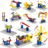 cheap Mechanical Style Educational 3D Puzzle Toy - 68pcs / set