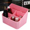 cheap SUMSHUN Weave Cosmetic Storage Box Case