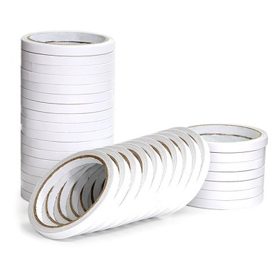 Deli 30400 10PCS Double-sided Paper Adhesive Tape