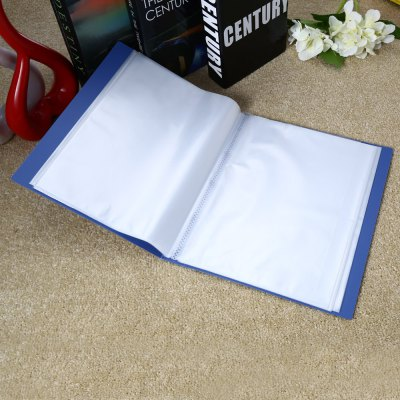 Deli 5005 A4 Clear Book Office SuppliesDesk Organizers<br>Deli 5005 A4 Clear Book Office Supplies<br><br>Brand: Deli<br>Product weight: 0.374 kg<br>Package weight: 0.396 kg<br>Package size (L x W x H): 31.00 x 23.50 x 3.50 cm / 12.2 x 9.25 x 1.38 inches<br>Package Contents: 1 x Deli 5005 Clear Book