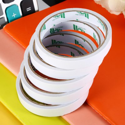 HEXING 5PCS Double-sided Paper Adhesive Tape