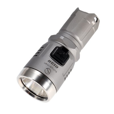 Sunwayman C13R LED FlashlightLED Flashlights<br>Sunwayman C13R LED Flashlight<br><br>Battery Included or Not: No<br>Battery Quantity: 1 (not included)<br>Battery Type: 16340, 18350, CR123A<br>Beam Distance: 150-200m<br>Body Material: Aerospace-grade Aluminum Alloy<br>Brand: Sunwayman<br>Emitters: Cree XM-L2 U3<br>Emitters Quantity: 1<br>Feature: Tail Stand, Waterproof, Tripod Mount, Stainless Steel Bezel, Reverse Polarity Protection, Rechargeable, Portable, Memory Function, Lock-out Function, Anti-Roll Rugged Design, Charging indicator, Cooling Slot of High Efficiency, Lanyard, Lightweight, Low-voltage Warning<br>Flashlight Processing Technology: Aerospace Grade Aluminum Body with Anti Scratching Type III Hard Anodization<br>Flashlight size: Mini<br>Flashlight Type: Tactical,Tiny<br>Function: Household Use, Camping, Military and Tactical, EDC, Walking, Hiking, Night Riding<br>High Mode: 180Lm 2h<br>Light color: Cool White<br>Light Modes: High,Location beacon,Low,Mid,SOS,Strobe,Turbo,Ultra low<br>Low Mode: 10Lm 60h<br>Lumens Range: 200-500Lumens<br>Luminous Flux: 380LM<br>Max.: 33 days<br>Mid Mode: 50Lm 10h<br>Mode Memory: Yes<br>Model: C13R<br>Package Contents: 1 x Sunwayman C13R LED Flashlight, 1 x Lanyard, 3 x O-ring, 1 x English Manual<br>Package size (L x W x H): 13.30 x 6.80 x 4.00 cm / 5.24 x 2.68 x 1.57 inches<br>Package weight: 0.1330 kg<br>Power: 10W<br>Power Source: Battery<br>Product size (L x W x H): 7.80 x 3.20 x 3.20 cm / 3.07 x 1.26 x 1.26 inches<br>Product weight: 0.0780 kg<br>Rechargeable: Yes<br>Reflector: Aluminum Smooth Reflector<br>Switch Location: Side Switch<br>Waterproof Standard: IPX-8 Standard Waterproof<br>Working Voltage: 2.8-4.2V