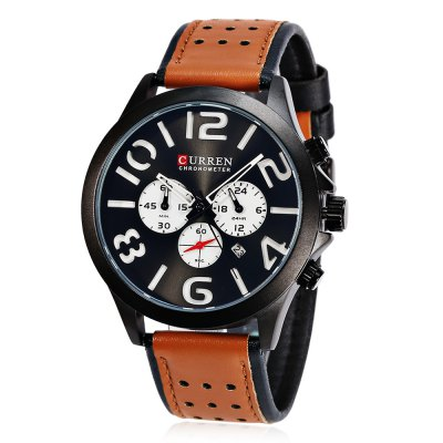 CURREN 8244 Casual Men Quartz Watch