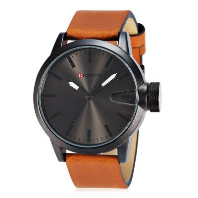 CURREN 8208 Casual Men Quartz WatchMens Watches<br>CURREN 8208 Casual Men Quartz Watch<br><br>Band material: Leather<br>Band size: 27 x 2.3 cm / 10.63 x 0.91 inches<br>Brand: Curren<br>Case material: Alloy<br>Clasp type: Pin buckle<br>Dial size: 5 x 5 x 2 cm / 1.97 x 1.97 x 0.79 inches<br>Display type: Analog<br>Movement type: Quartz watch<br>Package Contents: 1 x CURREN 8208 Casual Men Quartz Watch, 1 x Box<br>Package size (L x W x H): 11.30 x 8.30 x 6.80 cm / 4.45 x 3.27 x 2.68 inches<br>Package weight: 0.218 kg<br>Product size (L x W x H): 27.00 x 5.00 x 2.00 cm / 10.63 x 1.97 x 0.79 inches<br>Product weight: 0.088 kg<br>Shape of the dial: Round<br>Special features: Date<br>Watch color: Blue, Gold, Black + Silver, Silver, Black<br>Watch style: Casual<br>Watches categories: Male table<br>Water resistance : Life water resistant<br>Wearable length: 19.7 - 24.6 cm / 7.76 - 9.69 inches