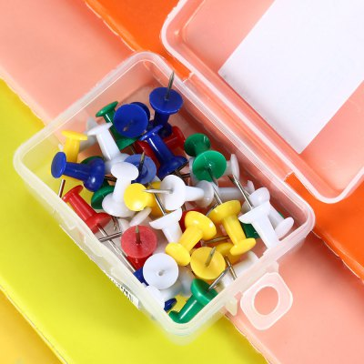Deli 0021 35PCS Colorful Push PinOther Supplies<br>Deli 0021 35PCS Colorful Push Pin<br><br>Brand: Deli<br>Color: Multi-color<br>Package Contents: 35 x Colorful Push Pin<br>Package size (L x W x H): 5.00 x 7.00 x 2.50 cm / 1.97 x 2.76 x 0.98 inches<br>Package weight: 0.049 kg<br>Product weight: 0.028 kg