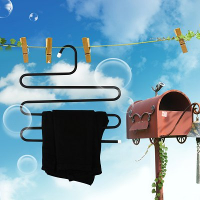 SUMSHUN Pants Hanger Clothes RackHooks &amp; Racks<br>SUMSHUN Pants Hanger Clothes Rack<br><br> Product weight: 0.501 kg<br>Available Color: Black<br>Brand: SUMSHUN<br>Materials: Metal<br>Package Contents: 1 x Pants Hanger<br>Package Size(L x W x H): 37.00 x 34.00 x 2.00 cm / 14.57 x 13.39 x 0.79 inches<br>Package weight: 0.6880 kg<br>Product Size(L x W x H): 36.00 x 33.00 x 1.00 cm / 14.17 x 12.99 x 0.39 inches