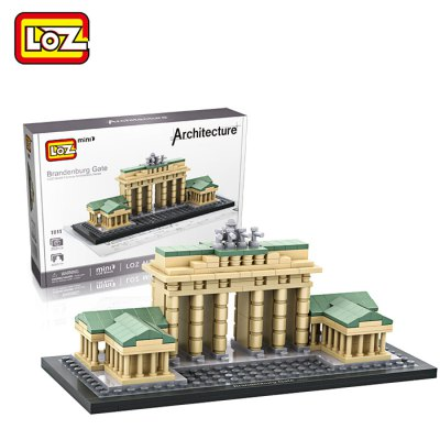 LOZ Architecture ABS Cartoon Building Brick - 362pcsBlock Toys<br>LOZ Architecture ABS Cartoon Building Brick - 362pcs<br><br>Brand: LOZ<br>Completeness: Semi-finished Product<br>Gender: Unisex<br>Materials: ABS<br>Package Contents: 362 x Module, 1 x Operation Instruction<br>Package size: 24.00 x 17.00 x 5.00 cm / 9.45 x 6.69 x 1.97 inches<br>Package weight: 0.2900 kg<br>Product size: 17.00 x 7.00 x 7.00 cm / 6.69 x 2.76 x 2.76 inches<br>Product weight: 0.2000 kg<br>Stem From: Europe and America<br>Theme: Movie and TV