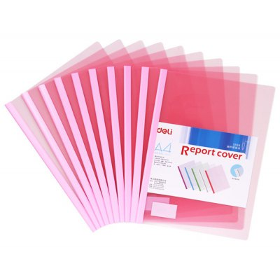 Deli 5538 PP Multiple Folder A4 Paper Bag 10PCS