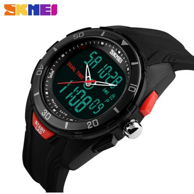 SKMEI 1157 Fashion EL Backlight Men Sports Watch