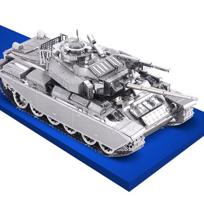ZOYO Tank Shape Module Puzzle Birthday GiftModel &amp; Building Toys<br>ZOYO Tank Shape Module Puzzle Birthday Gift<br><br>Gender: Unisex<br>Materials: Metal<br>Package Contents: 2 x 3D Metallic Puzzle Board, 1 x Operation Instruction<br>Package size: 24.00 x 13.00 x 0.30 cm / 9.45 x 5.12 x 0.12 inches<br>Package weight: 0.085 kg<br>Product size: 11.00 x 4.40 x 4.60 cm / 4.33 x 1.73 x 1.81 inches<br>Product weight: 0.065 kg<br>Stem From: Europe and America<br>Theme: Other