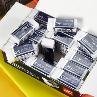 Deli 7536 45PCS EraserSchool Supplies<br>Deli 7536 45PCS Eraser<br><br>Brand: Deli<br>Package Contents: 45 x Deli 7536 Eraser<br>Package size (L x W x H): 13.00 x 9.00 x 3.50 cm / 5.12 x 3.54 x 1.38 inches<br>Package weight: 0.499 kg<br>Product weight: 0.470 kg