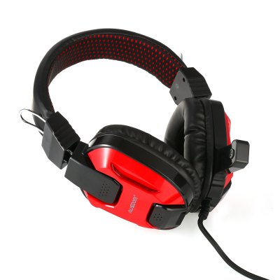 AUSDOM AGH15 Wired Headset for Games MusicEarbud Headphones<br>AUSDOM AGH15 Wired Headset for Games Music<br><br>Application: Computer<br>Brand: AUSDOM<br>Compatible with: Computer<br>Connectivity: Wired<br>Driver unit: 40mm<br>Function: Microphone, Answering Phone<br>Impedance: 32ohms±15 percent<br>Language: English<br>Material: ABS<br>Model: AGH15<br>Package Contents: 1 x AUSDOM AGH15 Headset<br>Package size (L x W x H): 19.50 x 12.80 x 22.00 cm / 7.68 x 5.04 x 8.66 inches<br>Package weight: 0.547 kg<br>Plug Type: USB<br>Product weight: 0.315 kg<br>Sensitivity: 95 ± 3 dB<br>Wearing type: Headband