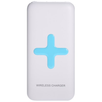 MS - WP100 7000mAh Portable Power Bank Wireless Charger