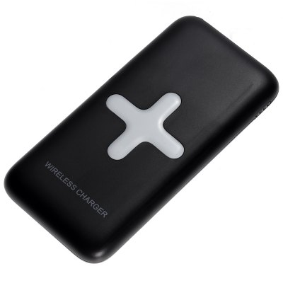 MS - WP100 7000mAh Portable Power Bank Wireless ChargerPower Banks<br>MS - WP100 7000mAh Portable Power Bank Wireless Charger<br><br>Type: Wireless Charger Receivers<br>Model: MS-WP100<br>Connection Type: Micro USB Interface,Two USB Output Interface<br>Battery Type: Li-Polymer Battery<br>Color: Black,White<br>Material: ABS,Silicon<br>Wireless transmission distance: No more than 8mm<br>Charging efficiency: No less than 73 percent<br>Input: 5V / 1 - 2A<br>Output: 5V / 1 - 2A, 5V 1A ( wireless charging )<br>Product weight: 0.178 kg<br>Package weight: 0.291 kg<br>Product size (L x W x H): 14.40 x 7.00 x 1.60 cm / 5.67 x 2.76 x 0.63 inches<br>Package size (L x W x H): 18.30 x 10.10 x 5.40 cm / 7.2 x 3.98 x 2.13 inches<br>Package Contents: 1 x Wireless Charger Power Bank, 1 x USB Cable, 1 x English User Manual