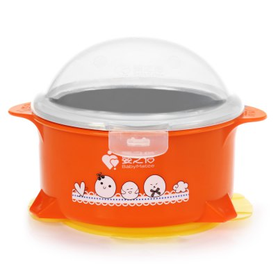 BabyMatee Baby Infant Bowl with Suction Cup
