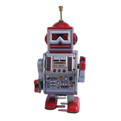 Robot Design Classical Clockwork Tin Educational Toy