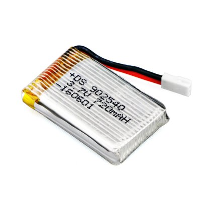 WSX / MX X4A - A16 3.7V 720mAh 30C Battery / Charger Set