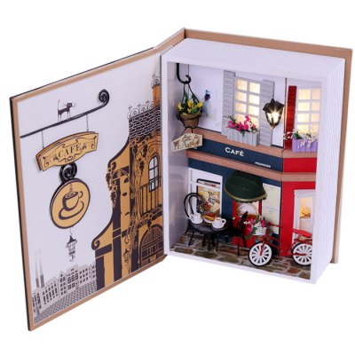 Room Design Miniature Art DIY Handicraft ToyOther Educational Toys<br>Room Design Miniature Art DIY Handicraft Toy<br><br>Materials: Other,Paper,Plastic<br>Theme: Other<br>Gender: Unisex<br>Completeness: Semi-finished Product<br>Stem From: China<br>Product weight: 0.350 kg<br>Package weight: 0.400 kg<br>Product size: 20.00 x 15.00 x 6.00 cm / 7.87 x 5.91 x 2.36 inches<br>Package size: 21.50 x 16.50 x 7.00 cm / 8.46 x 6.5 x 2.76 inches<br>Package Contents: 1 x Diary Kit, 1 x Operation Instruction