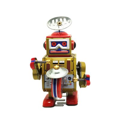 Classical Robot Style Clockwork Tin Educational Toy