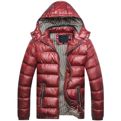 Men Quilted Jacket