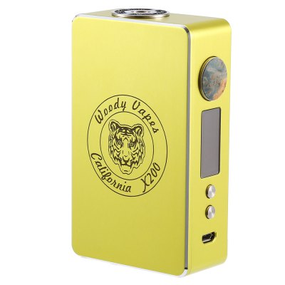 Woodyvapes - Original Woody Vapes X200 TC Box Mod with 7 - 200W