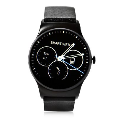 SMA - 09 Bluetooth 4.0 Heart Rate Monitor Smart WatchSmart Watches<br>SMA - 09 Bluetooth 4.0 Heart Rate Monitor Smart Watch<br><br>Brand: SMA<br>Built-in chip type: MTK2502<br>Bluetooth version: Bluetooth 4.0<br>RAM: 128MB<br>ROM: 64MB<br>Waterproof: Yes<br>IP rating: IP54<br>Bluetooth calling: Phone call reminder<br>Messaging: Message reminder<br>Health tracker: Heart rate monitor,Pedometer,Sedentary reminder,Sleep monitor<br>Remote control function: Remote Camera,Remote music<br>Notification: Yes<br>Notification type: Facebook,G-mail,Twitter,Wechat<br>Find phone: Yes<br>Groups of alarm: 5<br>Alert type: Ring,Vibration<br>Locking screen : 6<br>Other Function: Alarm,Calculator,Calender,Voice recorder,Weather forecast<br>Screen resolution: 240 x 240<br>Operating mode: Touch Screen<br>Type of battery: Polymer Battery<br>Battery Capacty: 300mAh<br>Charging Time: About 2hours<br>Standby time: About 2 - 3 Days<br>People: Female table,Male table<br>Shape of the dial: Round<br>Case material: Stainless Steel<br>Band material: Leather<br>Compatible OS: Android,IOS<br>Compatability: Android 4.4 / iOS 8.0 and Above Systems<br>Language: Dutch,English,French,German,Italian,Polish,Portuguese,Russian,Spanish,Turkish<br>Available color: Black,Brown,Silver<br>Dial size: 4.3 x 4.3 x 1.3 cm / 1.69 x 1.69 x 0.51 inches<br>Band size: 23.8 x 2.2 cm / 9.37 x 0.87 inches<br>Product size (L x W x H): 23.80 x 4.30 x 1.30 cm / 9.37 x 1.69 x 0.51 inches<br>Package size (L x W x H): 9.80 x 9.80 x 8.00 cm / 3.86 x 3.86 x 3.15 inches<br>Product weight: 0.074 kg<br>Package weight: 0.230 kg<br>Package Contents: 1 x SMA - 09 Smart Watch, 1 x Charging Cable, 1 x English User Manual