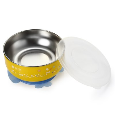 2PCS BabyMatee Baby Infant Cartoon BowlFeeding<br>2PCS BabyMatee Baby Infant Cartoon Bowl<br><br>Brand: BabyMatee<br>Type: Bowls<br>Material: PP,Stainless Steel<br>Color: Blue,Yellow<br>Product weight: 0.169 kg<br>Package weight: 0.613 kg<br>Product size (L x W x H): 13.20 x 12.70 x 5.50 cm / 5.2 x 5 x 2.17 inches<br>Package size (L x W x H): 28.00 x 14.20 x 9.30 cm / 11.02 x 5.59 x 3.66 inches<br>Package Contents: 2 x Bowl, 2 x Suction Cup