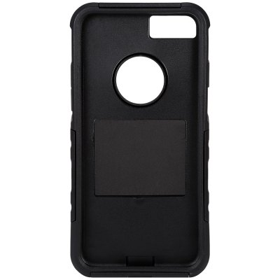 Silicone Bumper Phone Back Case Protector for iPhone 7iPhone Cases/Covers<br>Silicone Bumper Phone Back Case Protector for iPhone 7<br><br>Color: Black<br>Compatible for Apple: iPhone 7<br>Features: Anti-knock, Back Cover, Cases with Stand<br>Material: PC, Silicone<br>Package Contents: 1 x Phone Case<br>Package size (L x W x H): 18.50 x 10.10 x 2.50 cm / 7.28 x 3.98 x 0.98 inches<br>Package weight: 0.093 kg<br>Product size (L x W x H): 14.40 x 7.20 x 1.20 cm / 5.67 x 2.83 x 0.47 inches<br>Product weight: 0.045 kg<br>Style: Solid Color, Cool, Modern