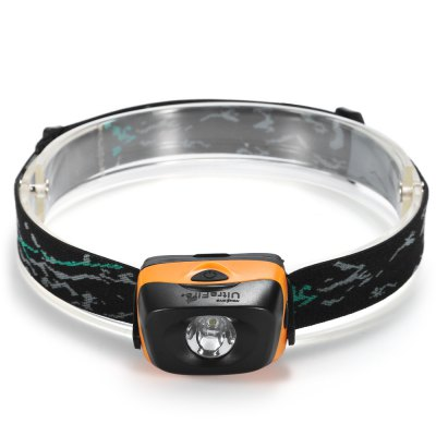 UltraFire W01 120Lm LED HeadlampHeadlights<br>UltraFire W01 120Lm LED Headlamp<br><br>Available Light Color: Cool White<br>Battery Quantity: 3 (not included)<br>Battery Type: AAA<br>Beam Distance: 50-100m<br>Body Material: ABS<br>Color Temperature: 6000-7000K<br>Emitters Quantity: 1<br>Feature: Angle adjustment, Can be used as headlamp or bicycle light<br>Function: Bicycle<br>Headlight Brand: Ultrafire<br>Luminous Flux: 120LM<br>Main Emitters: Other<br>Mode: 3 (High; Low; Strobe)<br>Model: W01<br>Package Contents: 1 x UltraFire W01 LED Headlamp, 1 x Headband<br>Package size (L x W x H): 9.00 x 5.50 x 5.50 cm / 3.54 x 2.17 x 2.17 inches<br>Package weight: 0.0900 kg<br>Power: 3W<br>Power Source: Battery<br>Product size (L x W x H): 6.00 x 4.50 x 3.50 cm / 2.36 x 1.77 x 1.38 inches<br>Product weight: 0.0560 kg<br>Working Voltage: 4.5V