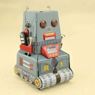 Classical Tank Style Clockwork Tin Educational ToyClassic Toys<br>Classical Tank Style Clockwork Tin Educational Toy<br><br>Appliable Crowd: Beginner<br>Materials: Other, Metal<br>Nature: Other<br>Package Contents: 1 x Tin Toy<br>Package size: 12.00 x 8.00 x 8.00 cm / 4.72 x 3.15 x 3.15 inches<br>Package weight: 0.080 kg<br>Product size: 10.00 x 6.00 x 7.00 cm / 3.94 x 2.36 x 2.76 inches<br>Product weight: 0.070 kg