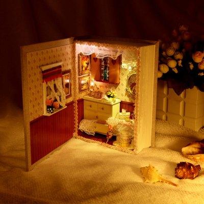 DIY Room Design Miniature Art Handicraft Toy