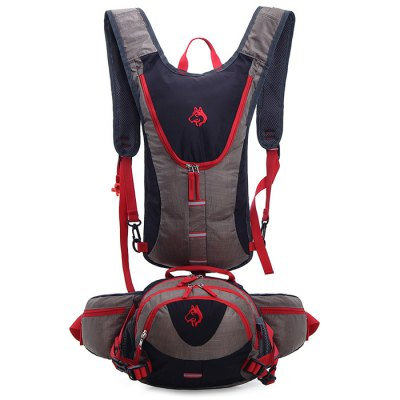 Hasky 1602 Backpack + Waist BagBackpacks<br>Hasky 1602 Backpack + Waist Bag<br><br>Bag Capacity: 20L<br>Brand: Hasky<br>Capacity: 11 - 20L<br>For: Climbing, Hiking, Traveling<br>Material: Polyester, Oxford Fabric, Nylon<br>Package Contents: 1 x Hasky 1602 Backpack, 1 x Waist Bag<br>Package size (L x W x H): 28.00 x 20.00 x 10.00 cm / 11.02 x 7.87 x 3.94 inches<br>Package weight: 0.578 kg<br>Product weight: 0.539 kg<br>Type: Sports
