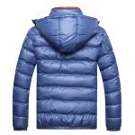 Zipper Contrast Slim Fit Quilted Jacket deal