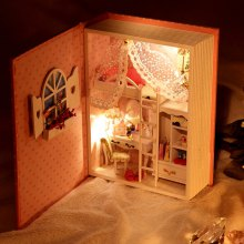 Doll House DIY Room Design Miniature Handicraft Toy