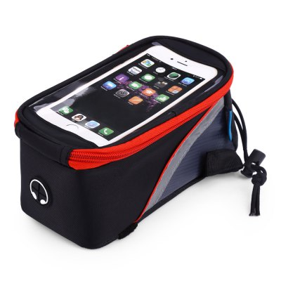 ROSWHEEL D12496L 1.8L Touch Screen Bicycle Font BagBike Bags<br>ROSWHEEL D12496L 1.8L Touch Screen Bicycle Font Bag<br><br>Brand: Roswheel<br>Model Number: D12496L<br>Suitable for: Cross-Country Cycling,Fixed Gear Bicycle,Motorcycle,Mountain Bicycle,Road Bike,Touring Bicycle<br>Material: Polyester,PU,PVC<br>Color: Blue,Orange,Red,Yellow<br>Emplacement: Front Tube<br>Product weight: 0.161 kg<br>Package weight: 0.200 kg<br>Product Dimension: 19.50 x 9.00 x 10.00 cm / 7.68 x 3.54 x 3.94 inches<br>Package Dimension: 20.00 x 10.00 x 11.00 cm / 7.87 x 3.94 x 4.33 inches<br>Package Contents: 1 x ROSWHEEL D12496L 1.8L Touchscreen Bicycle Font Tube Bag